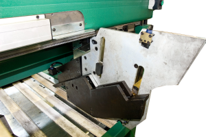 Система лазерного контроля отрезаемой длины заготовок Pedrazzoli