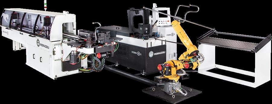 Трубообрабатывающий роботизированный комплекскомплекс